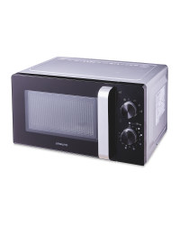 Ambiano Silver Microwave Oven