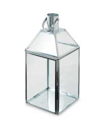 Silver Outdoor Lantern