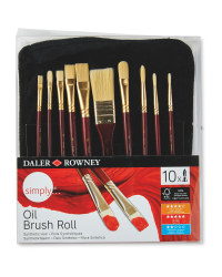 Simply Oil Paint Brushes Set