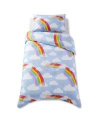 Single Cotton Duvet Set Rainbow