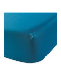 Single Easy Care Fitted Sheet - Teal