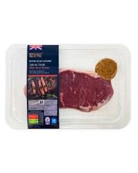 Sirloin Steak With Beef Butter