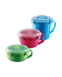 Sistema Food Containers 3-Pack