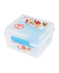 Sistema Lunch Cube Max & Bottle - Blue