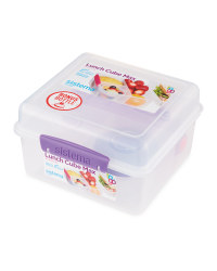 Sistema Lunch Cube Max & Bottle - Purple