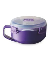Sistema Microwave Breakfast Bowl - Purple