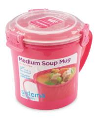 Sistema Soup Mug - Pink