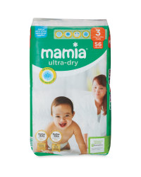 Mamia Size 3 Midi Nappies 56 Pack