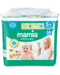 Size 5+ Junior+ Nappies 36 Pack