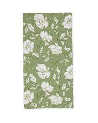 Sketched Floral Fabric Panels