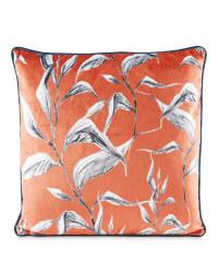 Kirkton House Sketchy Leaf Cushion