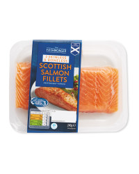 Skinless Scottish Salmon Fillets