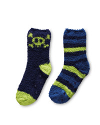 Lily & Dan Skull Slipper Socks