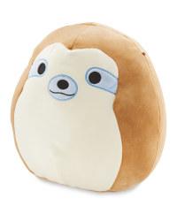 Cuddly Sloth Squishmallow Cushion