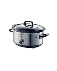 Slow Cooker - Stainless Steel