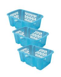 Small Basket Set - 3 Pack - Blue
