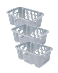 Small Basket Set - 3 Pack - Nature