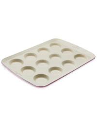 Small Ceramic Bun Tray - Coral