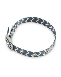 Small Chevron Dog Collar