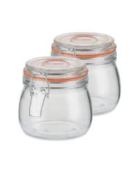 Small Clip Lid Jars 350ml