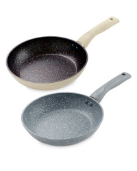 Small Marble Effect Frying Pan