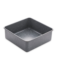 Small Marble Effect Square Bakeware - Black