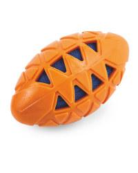Small Orange Crunch Dog Toy