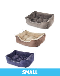 Small Plush Pet Bed