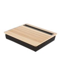 Small Tablet Lap Tray - Wood
