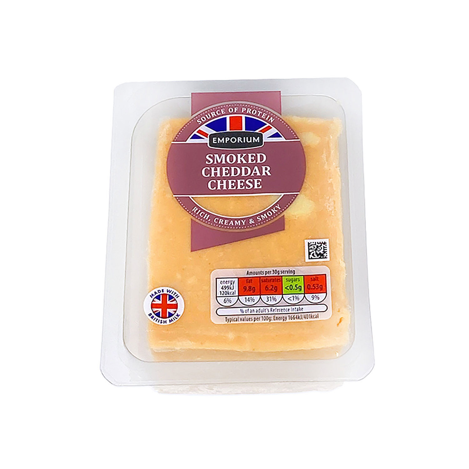 Speciality Cheese Smoked Cheddar
