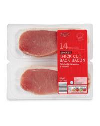 Smoked Thick Cut Back Bacon Rashers