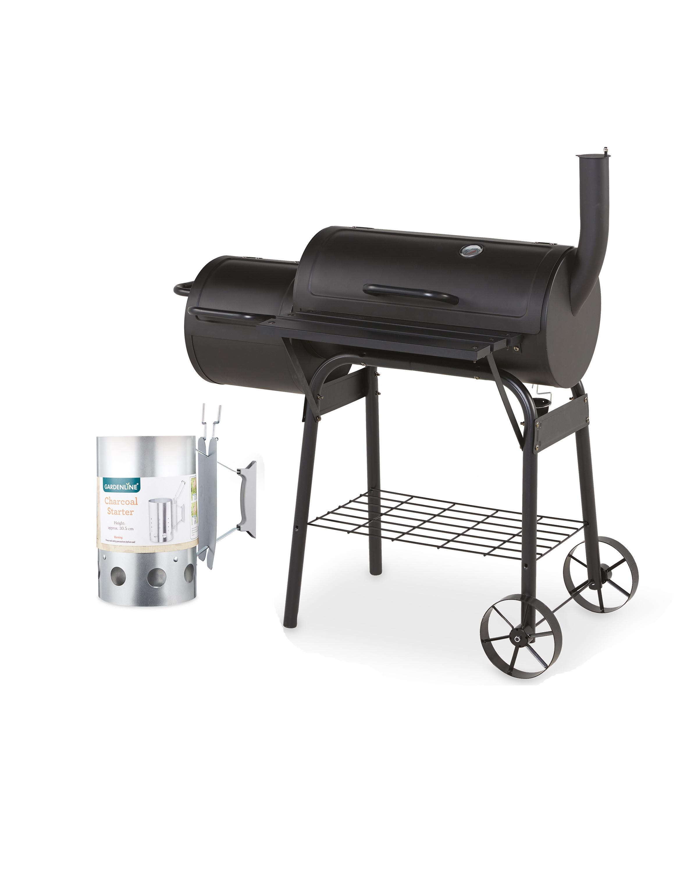 Smoker BBQ & Charcoal Starter