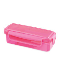 Snack And Dip Container - Pink