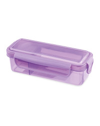Snack And Dip Container - Purple