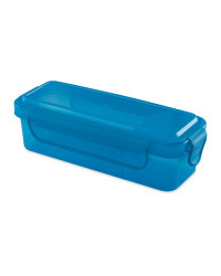 Blue Dip Snack Container