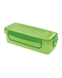 Green Dip Snack Container