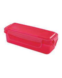 Pink Dip Snack Container