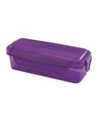 Purple Dip Snack Container