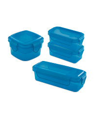Blue Snack Containers Bundle