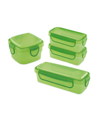 Green Snack Containers Bundle
