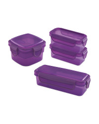 Purple Snack Containers Bundle