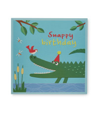 2 Pack Birthday Card - Snappy