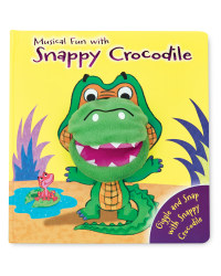 Snappy Crocodile Hand Puppet Book