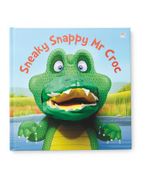Snappy Mr Crock Hand Puppet Book