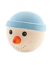 Snowman Squeaky Dog Toy