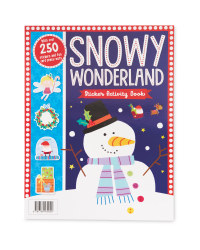 Snowy Wonderland Sticker Book