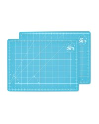 So Crafty A4 Cutting Mat 2-Pack - Blue