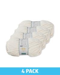 So Crafty Antique White Baby Yarn