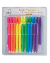 So Crafty Bright Highlighter 24 Pack