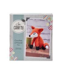 So Crafty Crochet Fox Kit